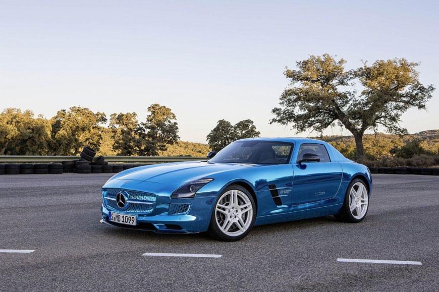 The Mercedes-Benz SLS Electric Drive (3)