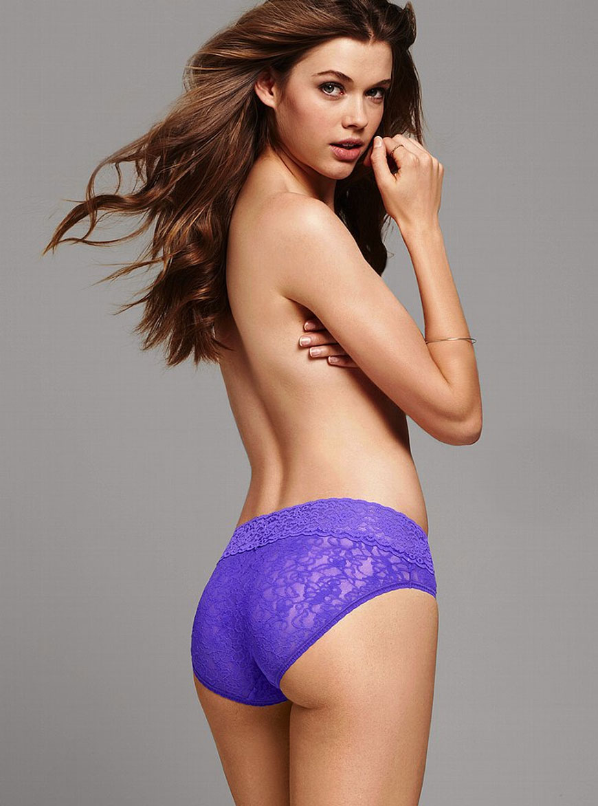 Victoria Lee voor Victoria Secret lingerie (12)