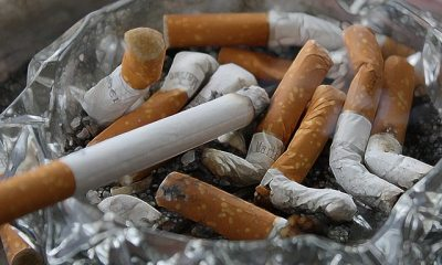 sigaret in asbak