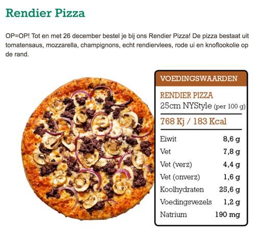 Rendier Pizza