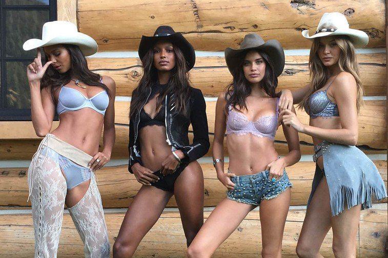 Victoria secret models in Aspen