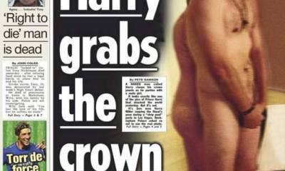 Prins harry naakt