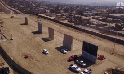 Muren voor border Mexico en VS