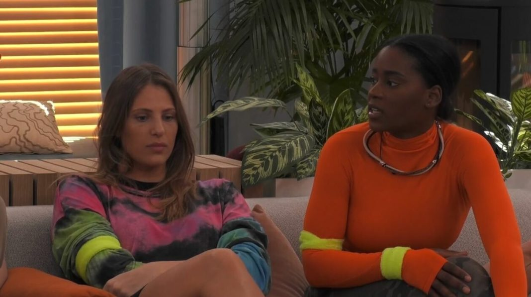 Zoey en Liese in 'Big Brother'