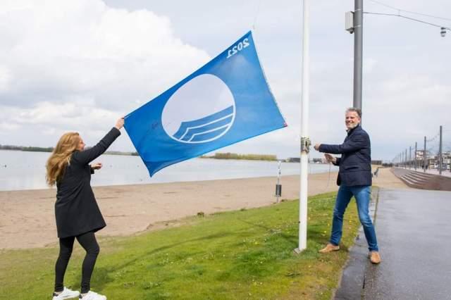 Strand Nesselande heeft de Blauwe Vlag voor de vijfde keer
