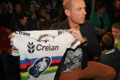 Sven werd in februari voor de 2de keer wereldkampioen