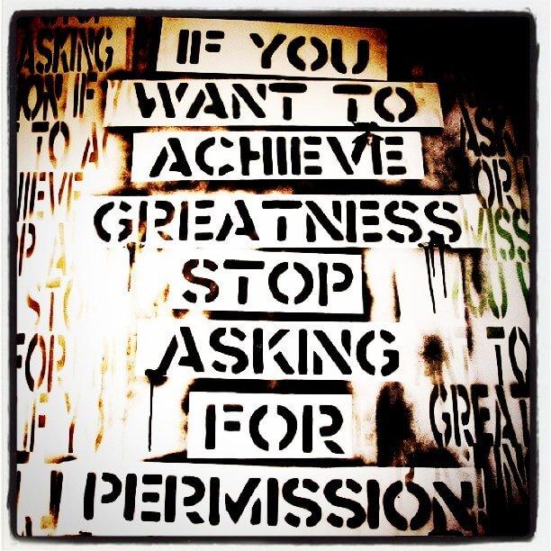 Permiso ¡Haz lo que amas!