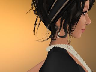 The jewellery - up close