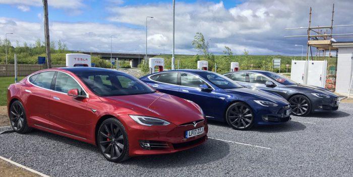 Tesla Ballacolla Supercharger