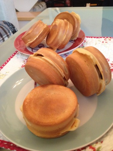 red bean cakes
