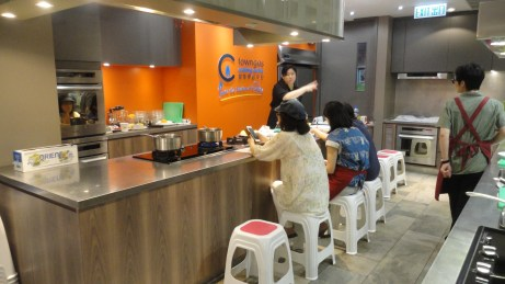 Demo station - Towngas cooking center