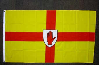 Flag of the province of Ulster. (c) Gordon GILLESPIE