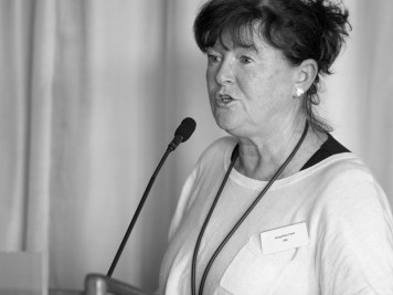Jacqueline IRWIN (CEO, Community Relations Council). Conference: One Place - Many People, Community Relations Council, Stormont Hotel, Belfast, Northern Ireland. @NI_CRC #CRWeek15