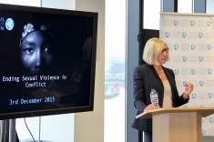 Anita TIESSEN. Ending Sexual Violence in Conflict event, Global Diplomatic Forum, London, England @DiplomaticForum (c) Global Diplomatic Forum