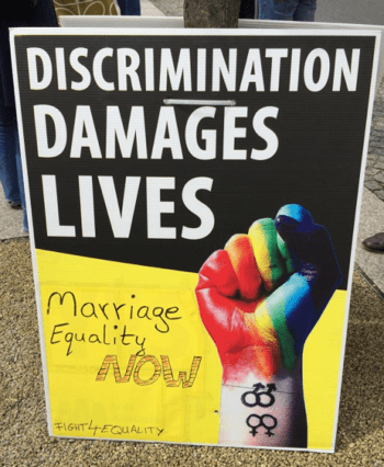 Discrimination damages lives
