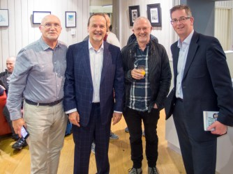 Bill SHAW (174 Trust), Tony MACAULAY, John ROSBOROUGH (Broadcaster), and James TOLAND (former youth worker).