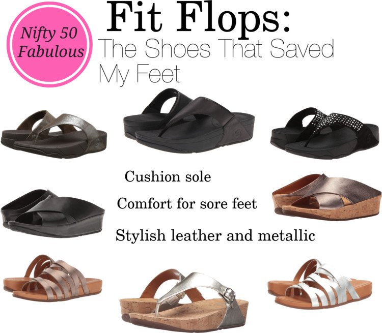 selection of favorite fitflp sandals