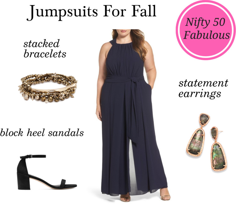 Styling Halter Neck Jumpsuit For Fall