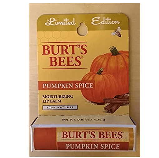 Burt's Bee Fall lip balm