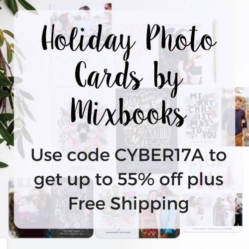 Holiday Photo Cards by Mixbooks