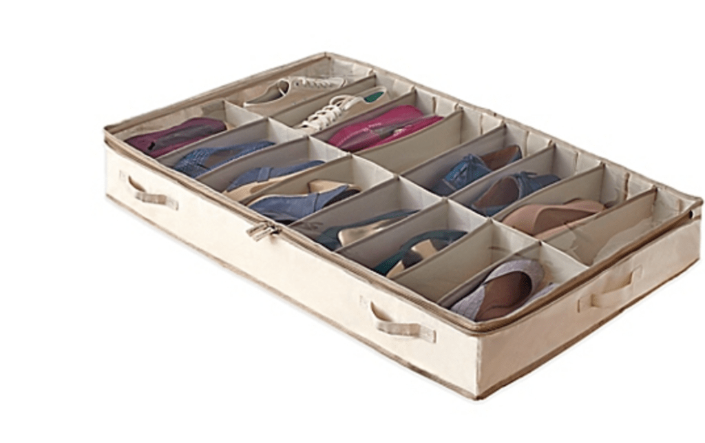 Under Bed Shoe Storage Bin