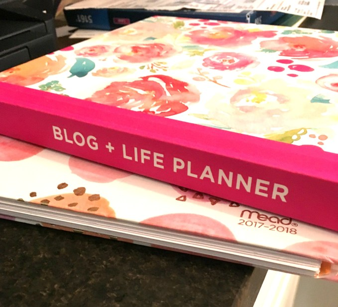 Blogging Agenda and Calendar