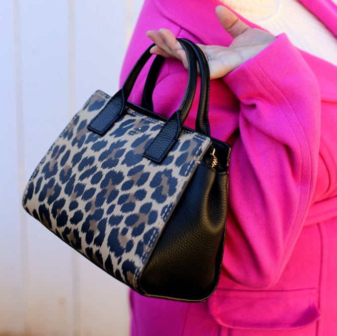 Dunne Lake Small Leopard Print Tote From Kate Spade