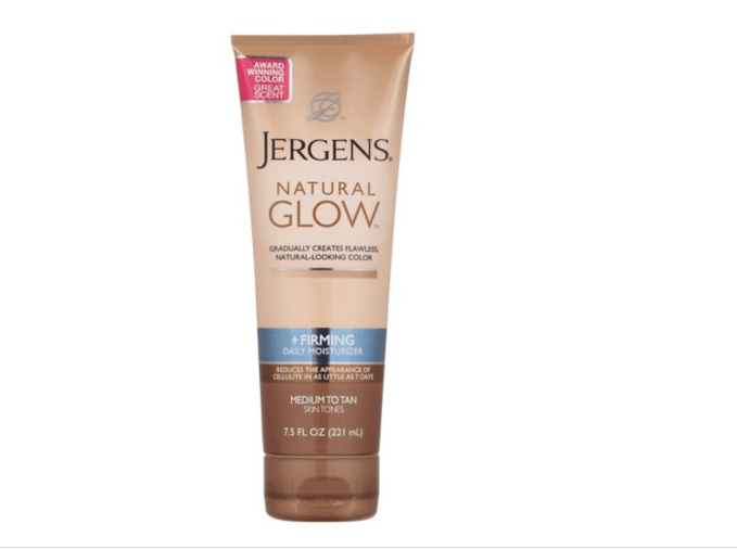 Try Jergens Natural Glow For easy, quick tan