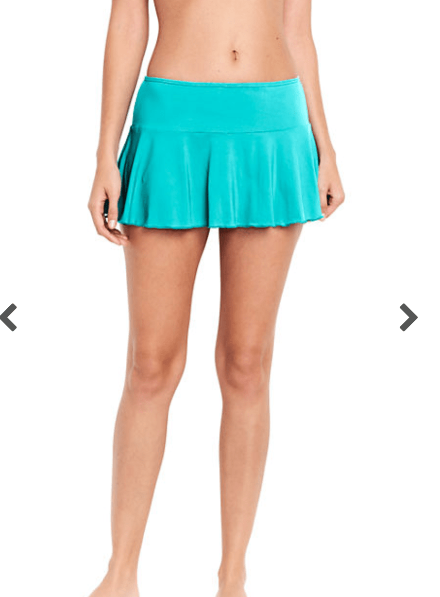 Lands' End Flounce Mini Swim Skirt