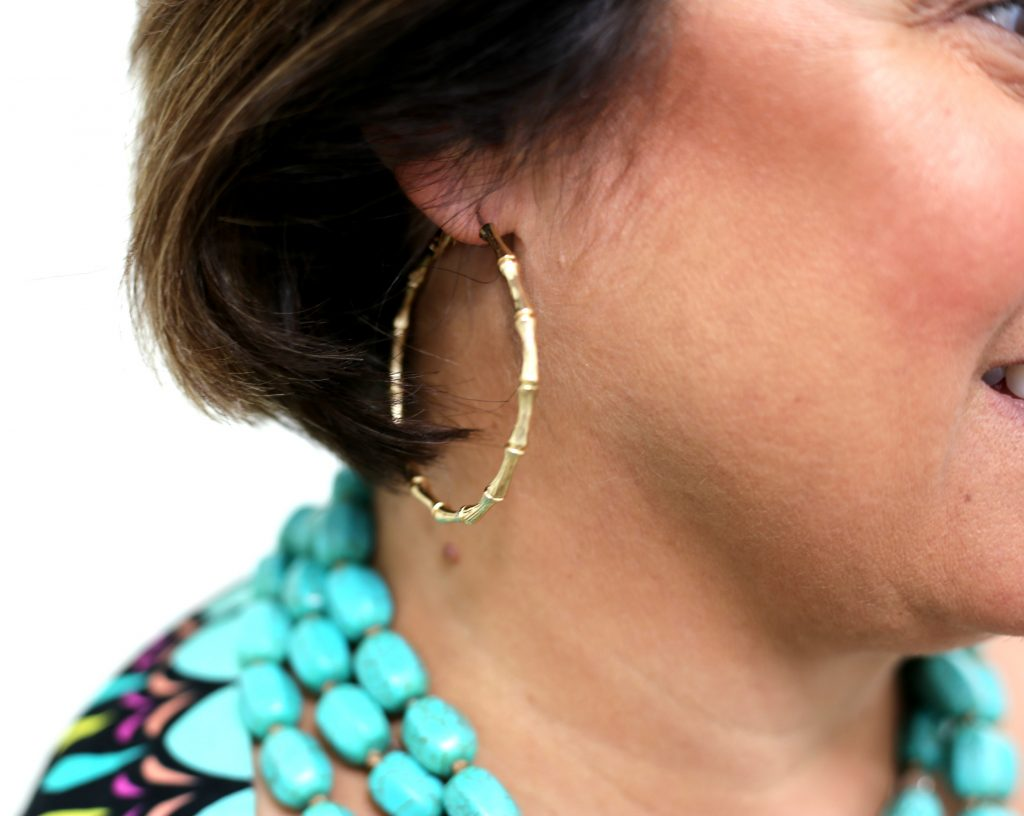 Silpada Necklace and Lilly Pulitzer Earrings