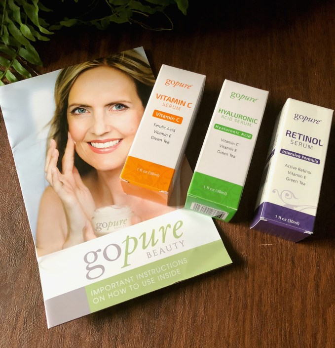 Go Pure Beauty Serum Kit