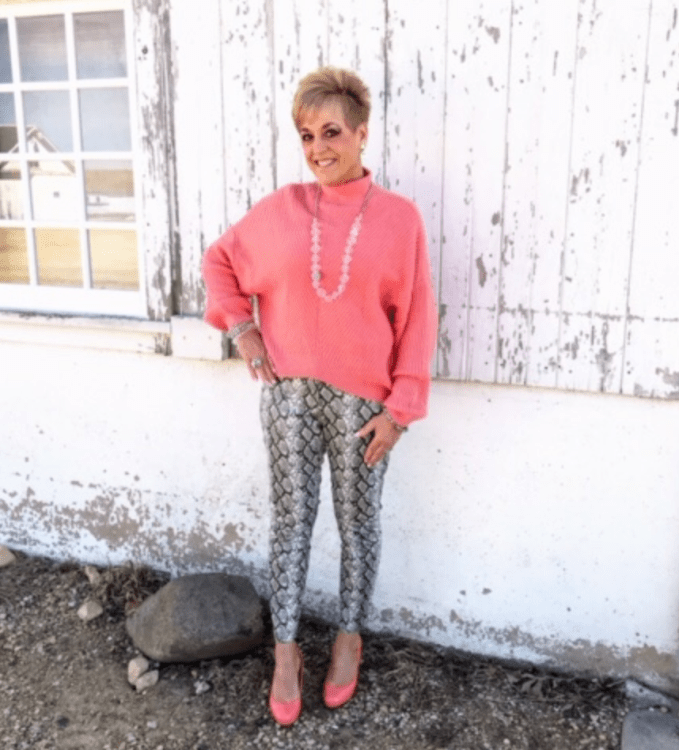 Snakeskin And Coral For Spring Trend