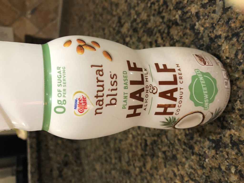 Look for coffee creamers that have ZERO sugar