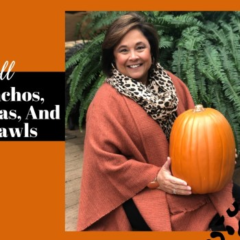 How To Wear Ponchos, Shawls, And Ruanas For Fall