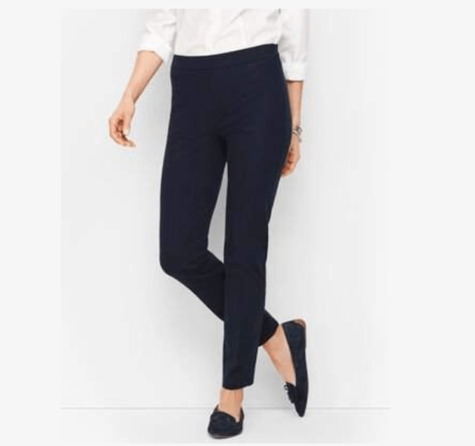 Talbots Tech Stretch Barely Boot Cut Pants