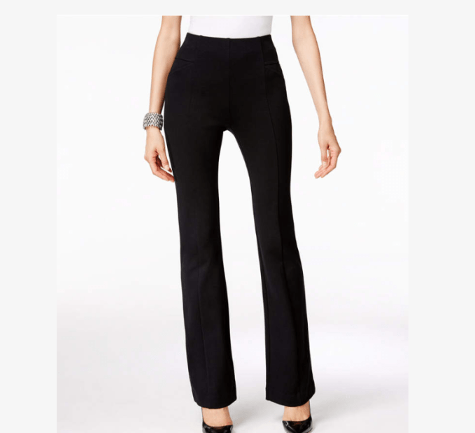 INC International Concepts Pull-On Boot Cut Pants