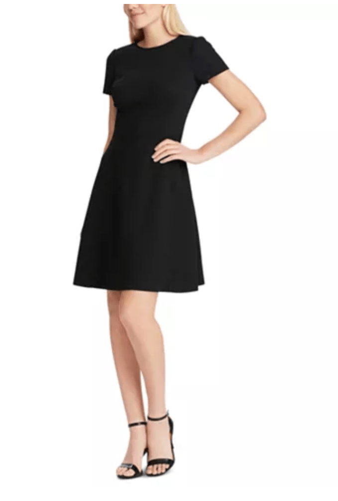 Simple fit & flare LBD for workhorse in your wardrobe