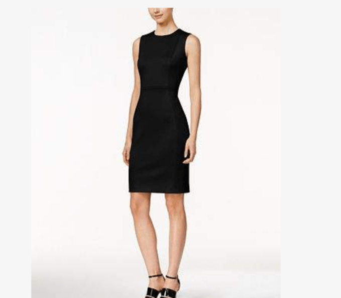 Wardrobe Basics- Little Black Dress For Women Over 50-Sleeveless sheath style if very classic and iconic
