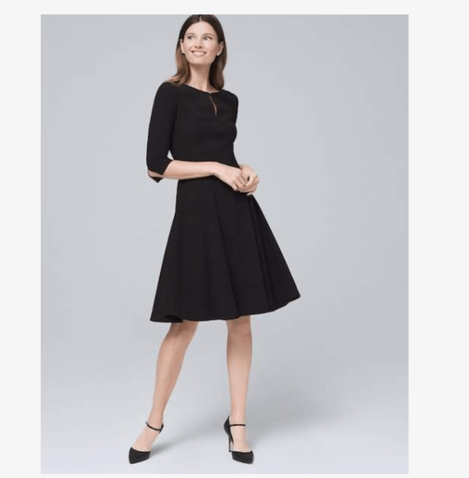 Iconic style makes this dress a great choice for LBD