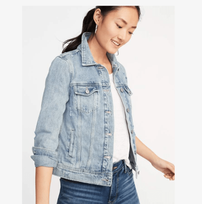 Wardrobe basics, outerwear you need in your closet- a denim jacket