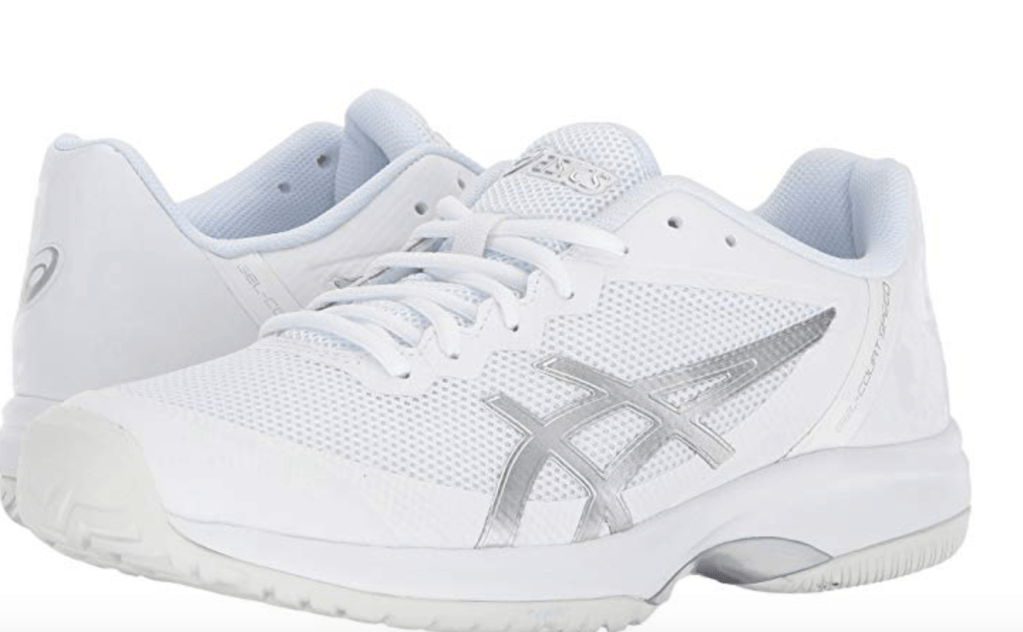 Huge fan of the Asics Gel-Court Speed for tennis. They come in several different colors