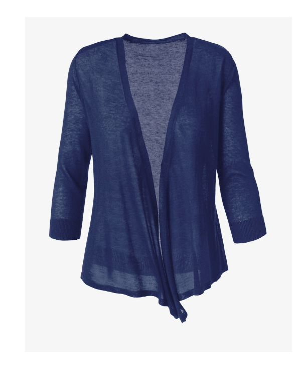 Chicos Off The Rack Convertible Cardigan is a lightweight shorter cardigan I have worn all year round