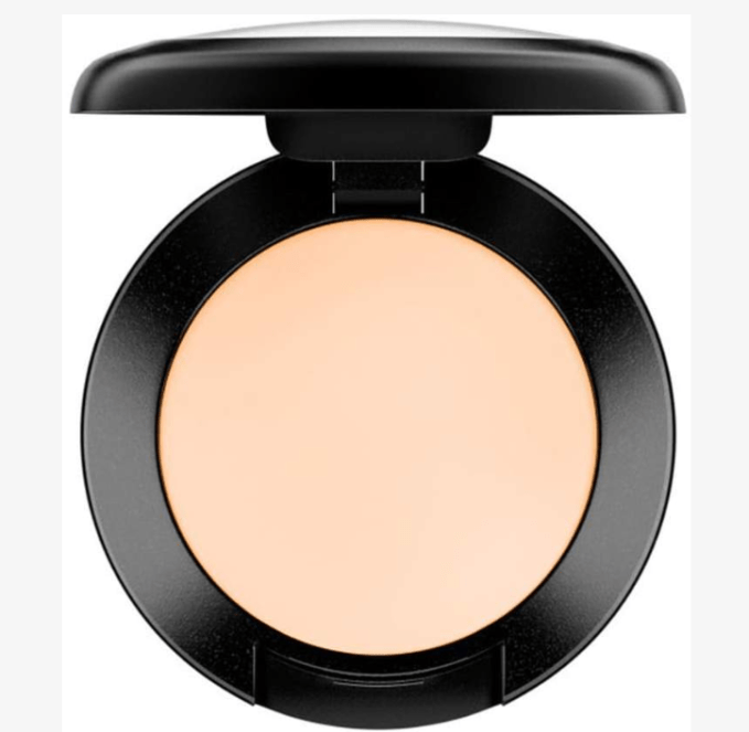 Studio Fix concealer is a thicker cream base. You don't need a lot of product.