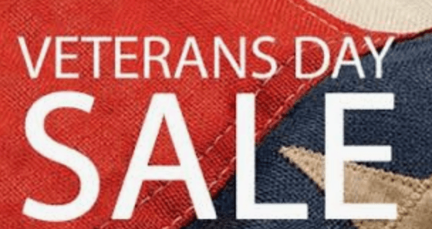 Shopping Strategies For The Holiday -Start early shopping the Veteran's Day Sales
