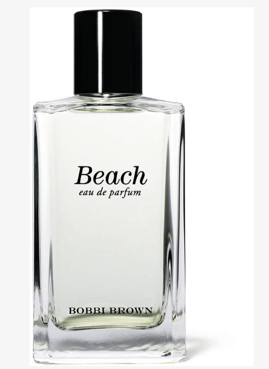 My signature fragrance is Bobbi Brown's Beach.  Inspired by the beach, this fragrance captures the essence of summer. with a light blend of sand jasmine, sea spray, and mandarin, this fragrance is wearable anytime, anywhere.