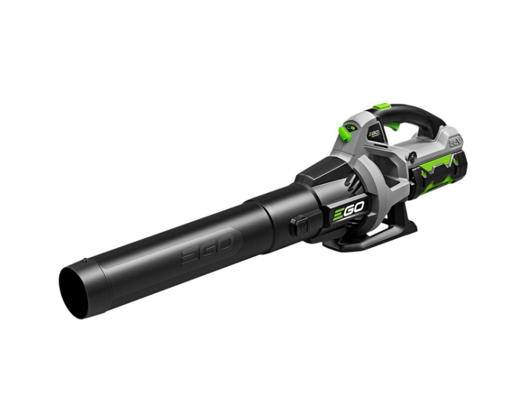 Lightweight, very easy to use, and cordless, the EGO Power Plus Battery Handled Leaf Blower is a great gift.  I have these at all my homes, no more trying to get the gas blower to work!