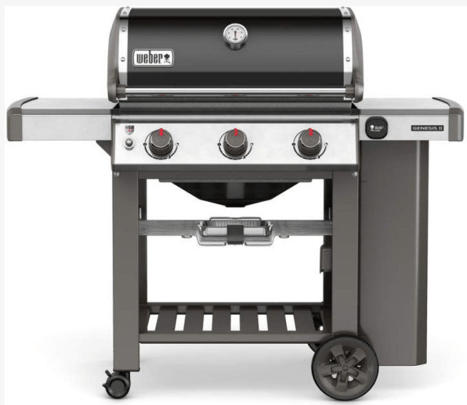 It is always grilling season in the south.  Weber makes the BEST grills.  This is the one we have and LOVE.  The Weber Genesis II 310 comes in both liquid propane and natural gas.