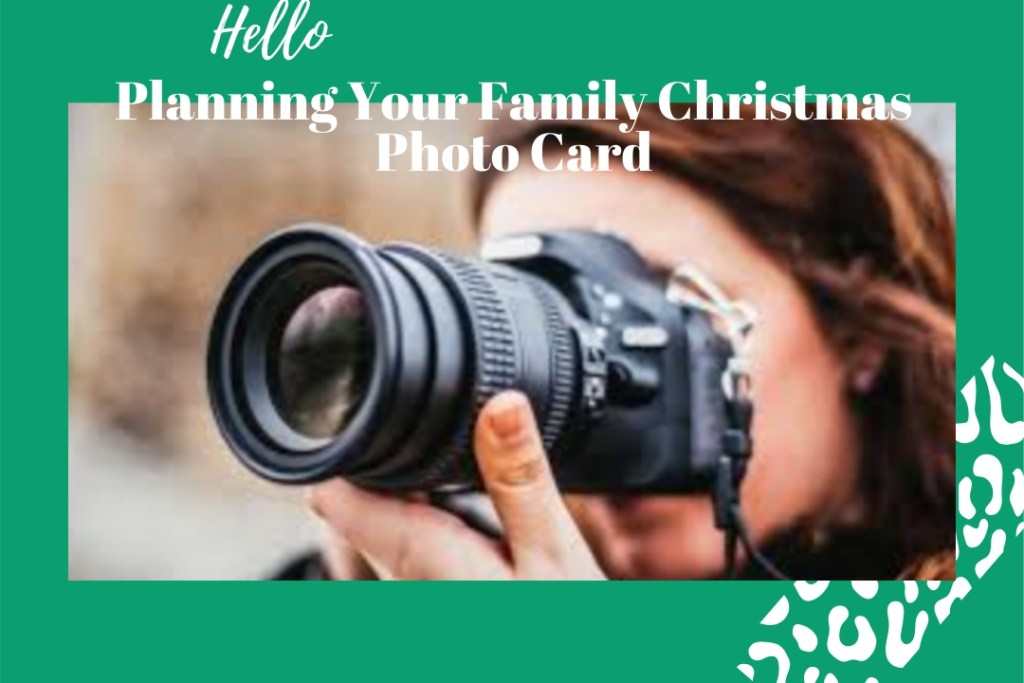 Planning Your Family Christmas Photo Card