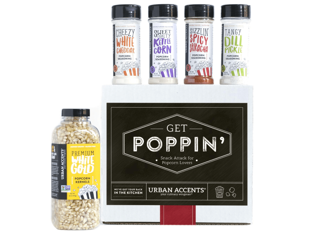 Gourmet Popcorn Seasonings Set