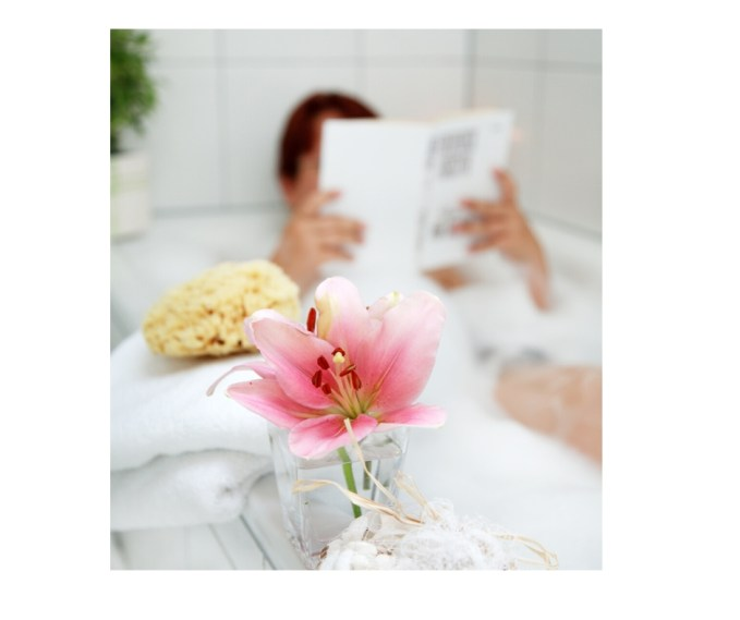 There is something extremely therapeutic about a relaxing bath